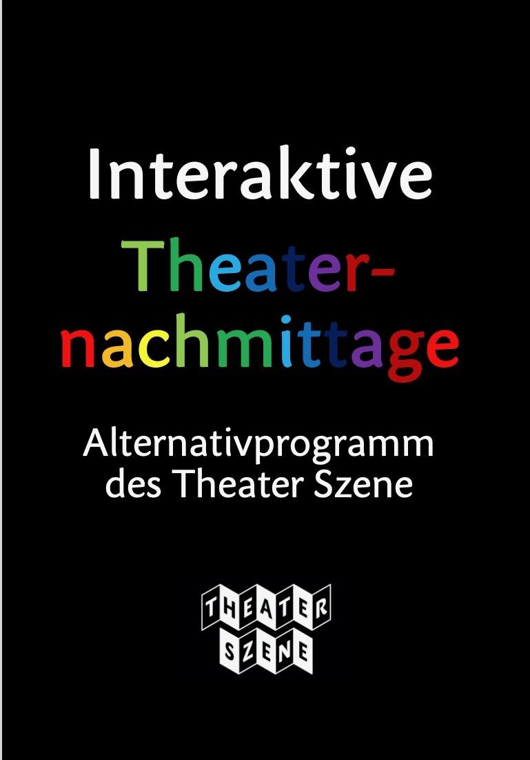 Flyer Intaerktive Theaternachmittage